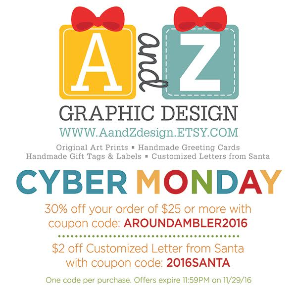 Cyber monday around ambler around ambler 2 off customized letter from santa with coupon code 2016santa one code per purchase offers expire 1159pm on 112916 spiritdancerdesigns Choice Image