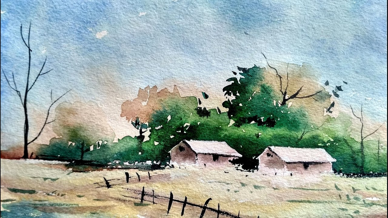 Watercolor classes with howard watson around ambler for Watercolor steps