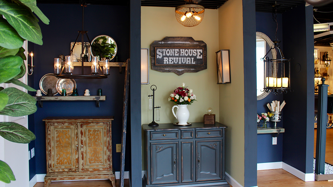 Denney Electric Supply Unveils Stone House Revival Inspired Gallery In  Ambler